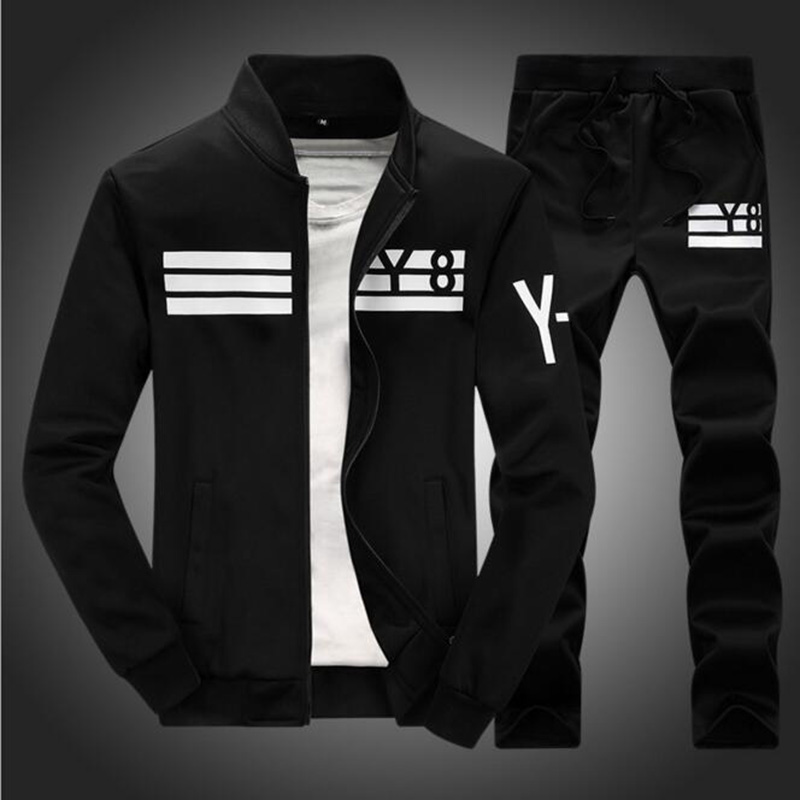 Mens black y8 tracksuit jacket and pants 2 piece tracksuit set free mens black tracksuit y8 jacket and pants 2 piece set active tracksuits clothing reheart Choice Image