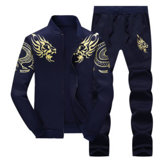 Bumpybeast Mens Tracksuit Blue Free Shipping | Tracksuitsonline.com