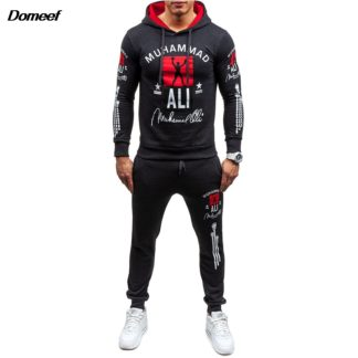 Domeef 2017 Fashion Ali Men Tracksuits Free Shipping