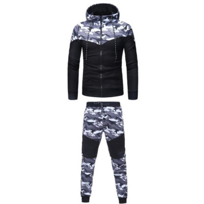 Camouflage-mens tracksuit